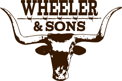 Wheeler & Sons Auctions: cow logo